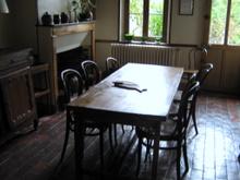 Kuchnia w domu państwa Barat, w której skupiało sie życie całej rodziny