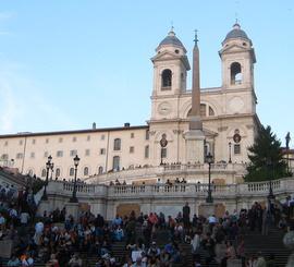 kościół Trinita Dei Monti w Rzymie i klasztor